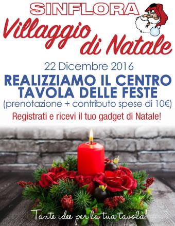 Realizziamo il centro tavola delle feste 22 12 2016 - Centro tavola di natale ...