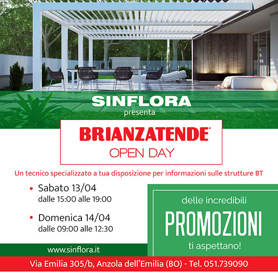BRIANZA TENDE OPEN DAY