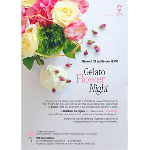 Gelato Flower Night 2016